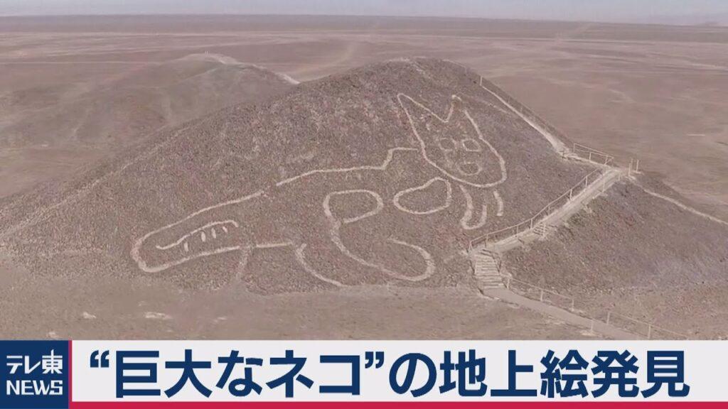 ナスカの地上絵 猫