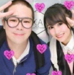 和田まんじゅうと奥さんのプリクラ